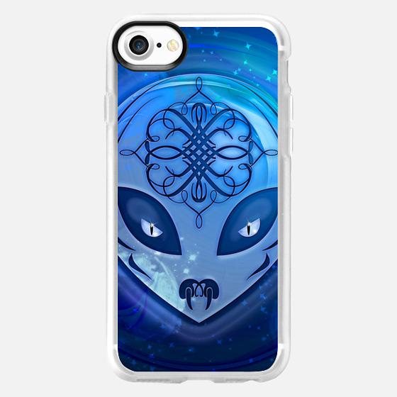 Blue Alien Dream - Classic Grip Case