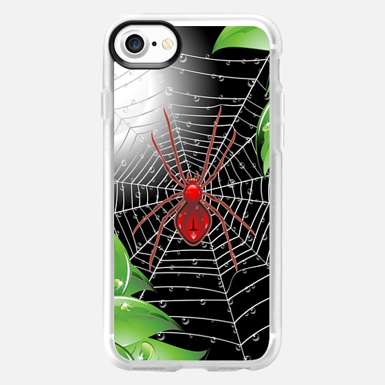Red Spider on Web - Classic Grip Case