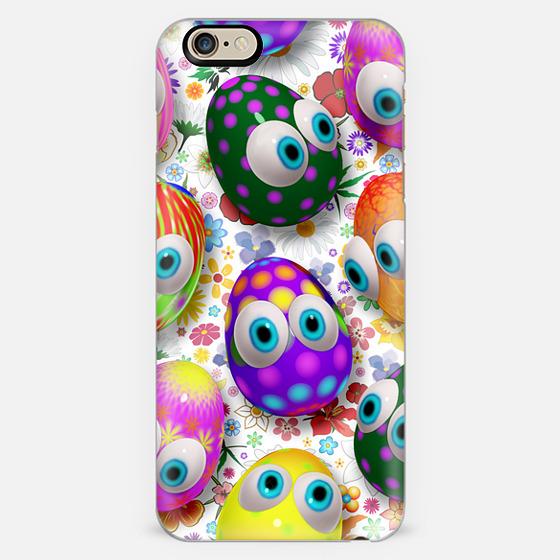 3d Cute Easter Eggs Cartoon -