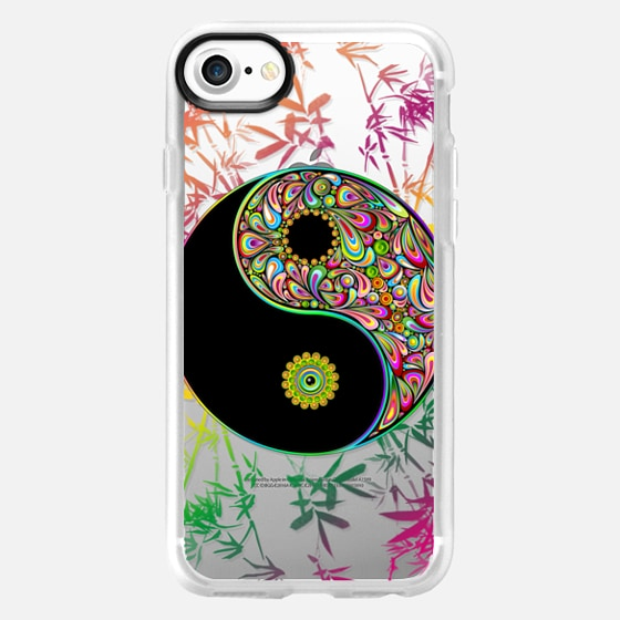 Yin Yang Psychedelic Sign - Snap Case