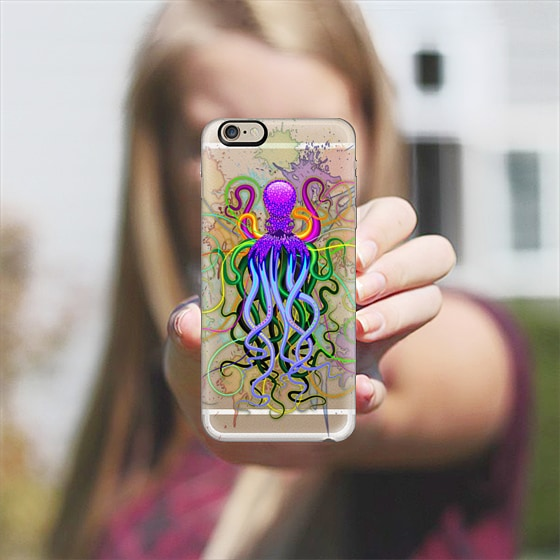 Octopus Psychedelic Luminescence iphone 11 case