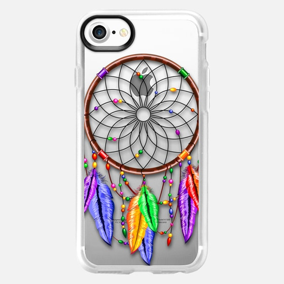 Dreamcatcher Rainbow Feathers - Classic Grip Case