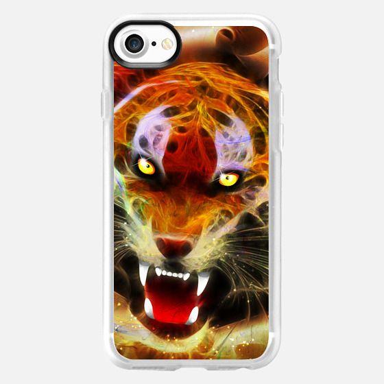Cosmic Fire Tiger Roar - Classic Grip Case