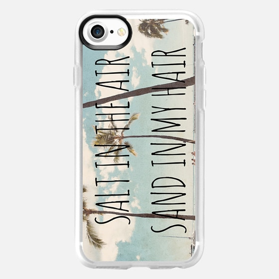Salt in the air sand in my hair - Wallet Case