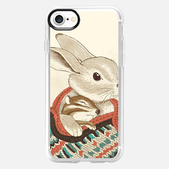 chipmunk and rabbit -