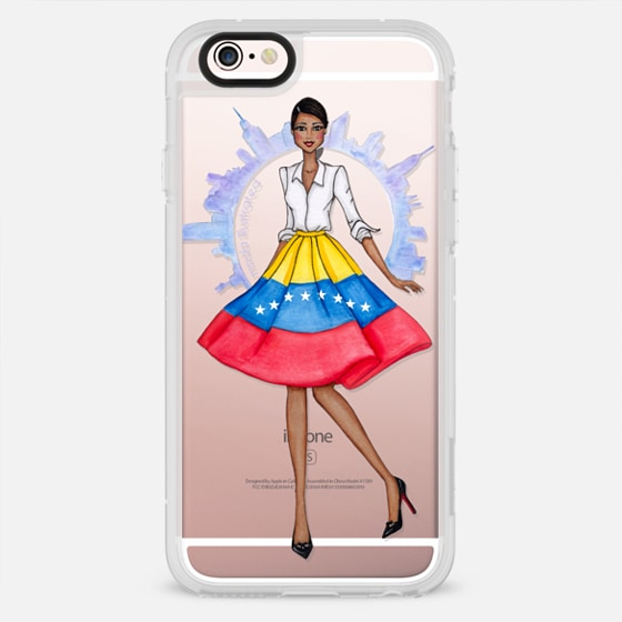 Venezuelan in NYC by Moda Illustrated -