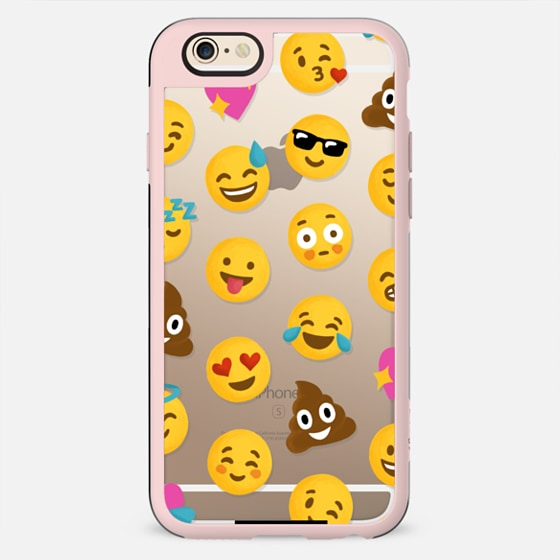Emoji Love Transparent Case - Nour Tohme iPhone 6s case by Nour Tohme ...