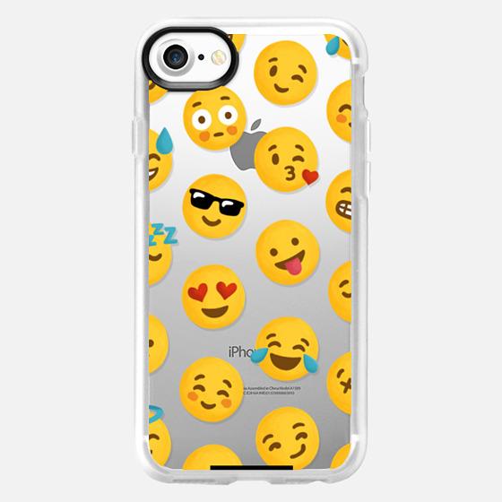 Emoji Love Transparent Case - Nour Tohme - Wallet Case