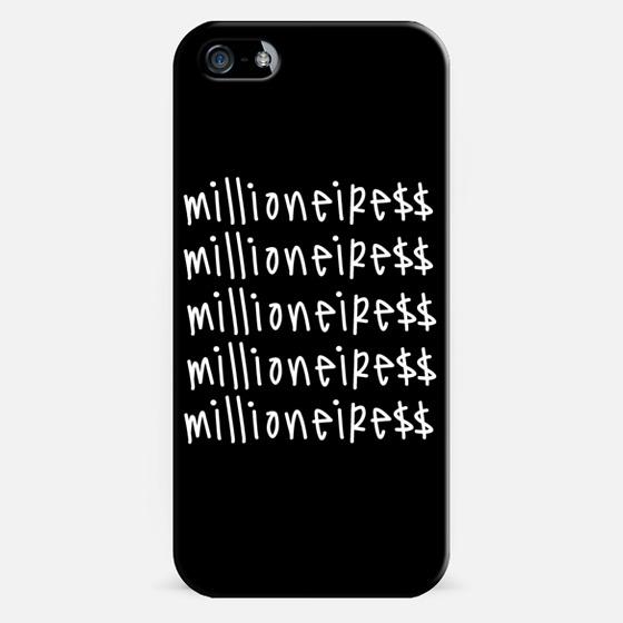 Millioneiress Dollas - Classic Snap Case