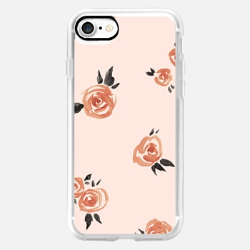 iPhone 7 Case Garden Rose by Kelli Murray