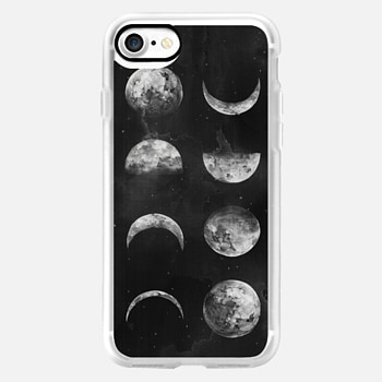 iPhone 7 Case Moon Phases by Kelli Murray