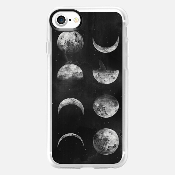 Moon Phases by Kelli Murray  - Wallet Case