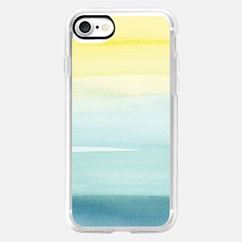 iPhone 7 Case Turquoise Wash by Yao Cheng