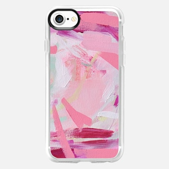 iPhone 7 Case Pink Farm by Britt Bass Turner