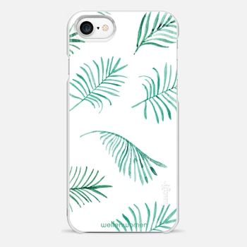 iPhone 7 Case Palms by Wellen Women