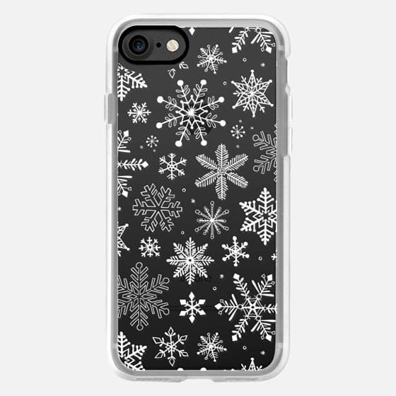 Snowflakes Winter White -