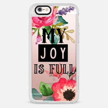 iPhone 6s เคส My Joy Is Full Black