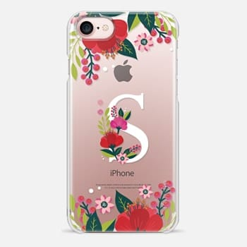 iPhone Case -  Tropical Monogram S