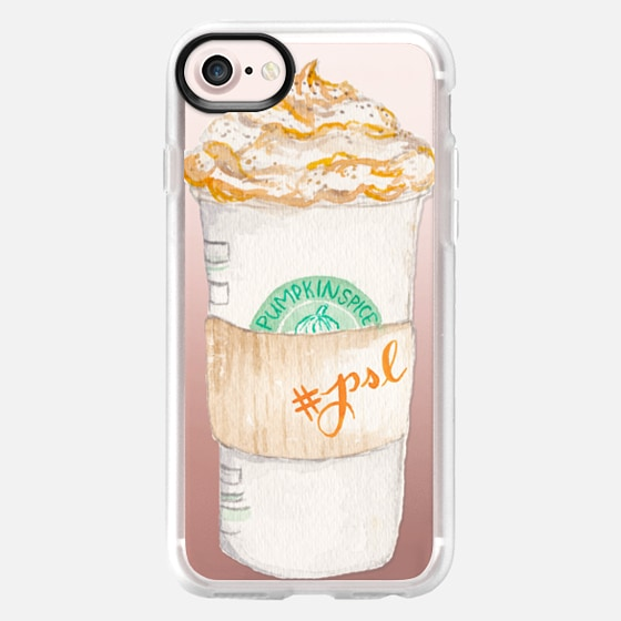 Pumpkin Spice Latte Starbucks Coffee Mug Watercolor -