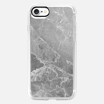 iPhone 7 ケース GREY MARBLE