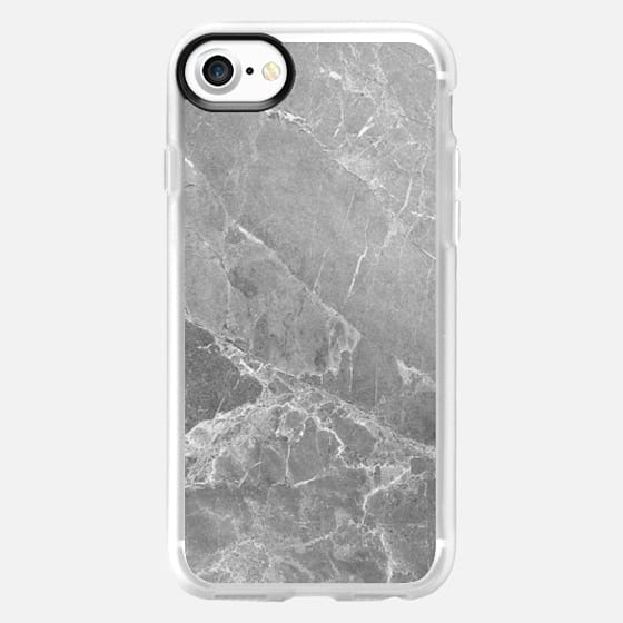 GREY MARBLE - Classic Grip Case