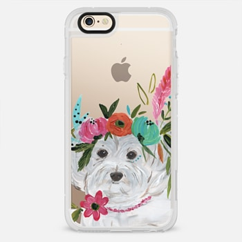 iPhone 6 Case Boho Maltipoo by Bari J. Designs