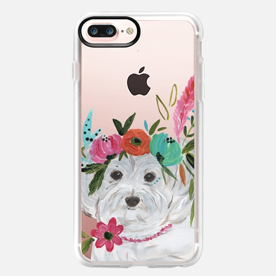 iPhone 7 Plus Case - Boho Maltipoo by Bari J. Designs