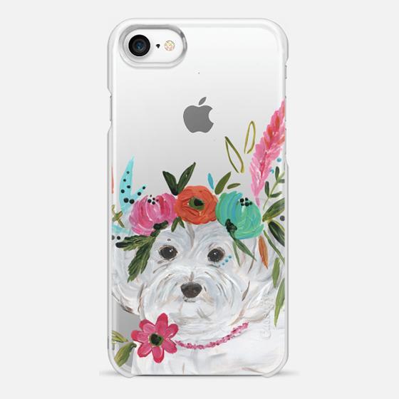 iPhone 7 Case - Boho Maltipoo by Bari J. Designs