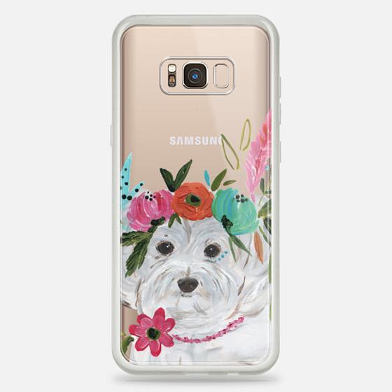Galaxy S8+ Case - Boho Maltipoo by Bari J. Designs
