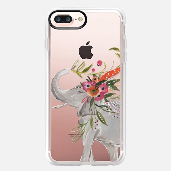iPhone 7 Plus Case - Boho Elephant by Bari J. Designs