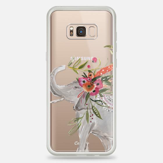 Galaxy S8+ Case - Boho Elephant by Bari J. Designs