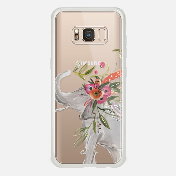 Galaxy S8 Case - Boho Elephant by Bari J. Designs