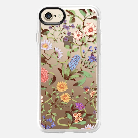Floral Tangles - Classic Grip Case