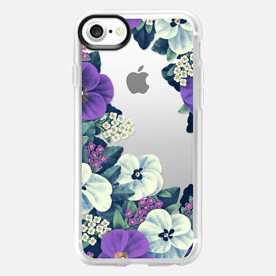 Night Flowers - Snap Case