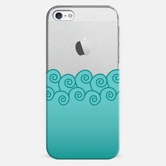 SeaSwirl - Classic Snap Case