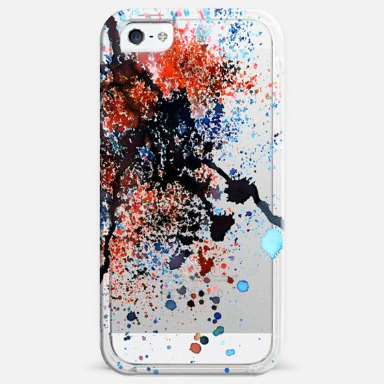 Paint Splash Black -