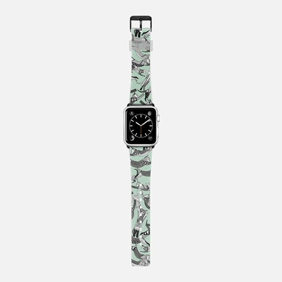 cat party mint apple watch band -