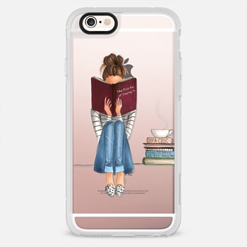 iPhone 6s เคส The Fine Art of Staying In (Transparent)