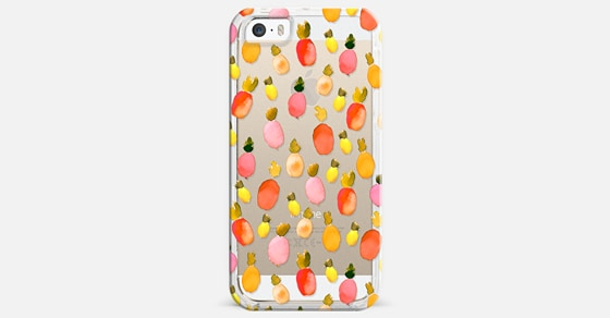 How bout' dem Pineapples iPhone 5s Case by Kiana Mosley