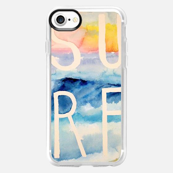 Sunset Beach Surf - Wallet Case