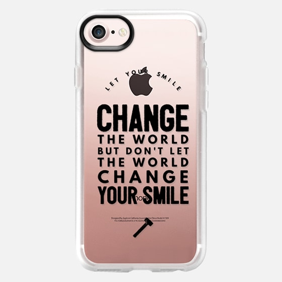 Change the world - Wallet Case