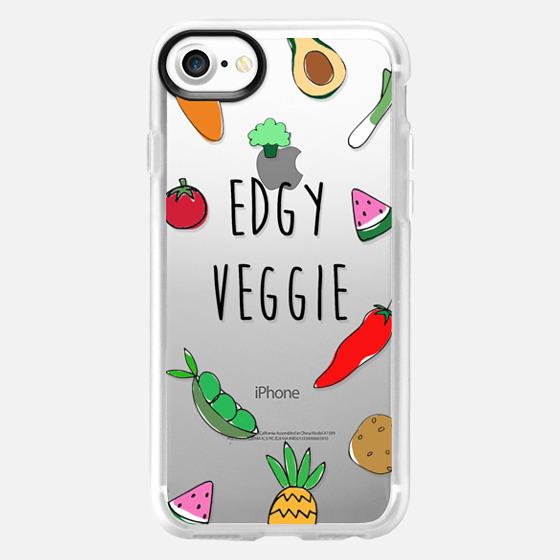Edgy Veggie - Vegan, Vegetarian Case - Wallet Case