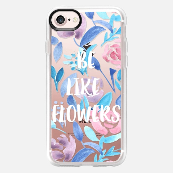 Be like flowers - Classic Grip Case