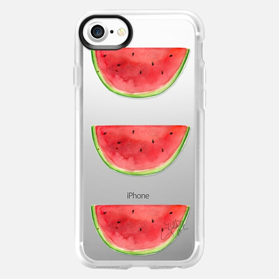 Watermelons Stacked (Transparent) - Wallet Case