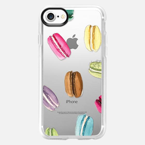 Macaron Shuffle (Transparent) - Wallet Case