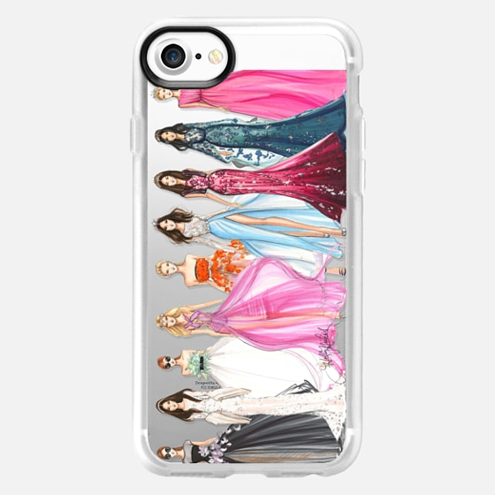 Couture Crew, Runway Inspired Phone Case (Transparent) - Wallet Case