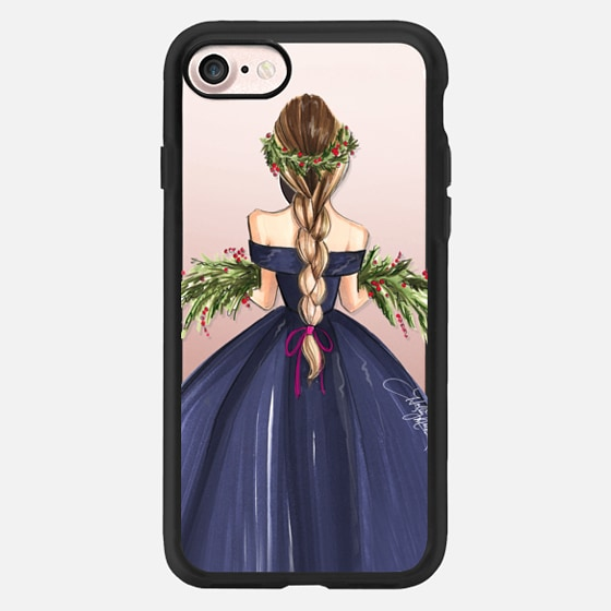 All is Calm (Fashion Illustration Case, Holiday/Christmas) -