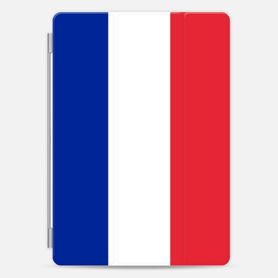 Flag of France- Iconic French flag with authentic colors -