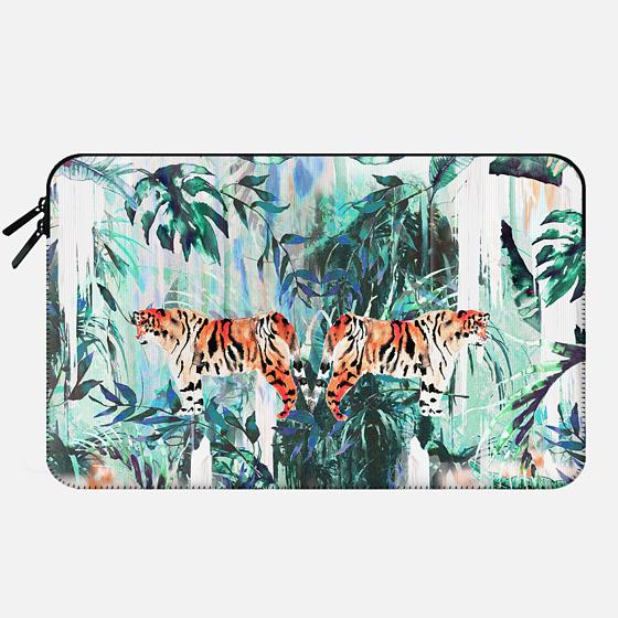 Tiger Jungle - Macbook Sleeve