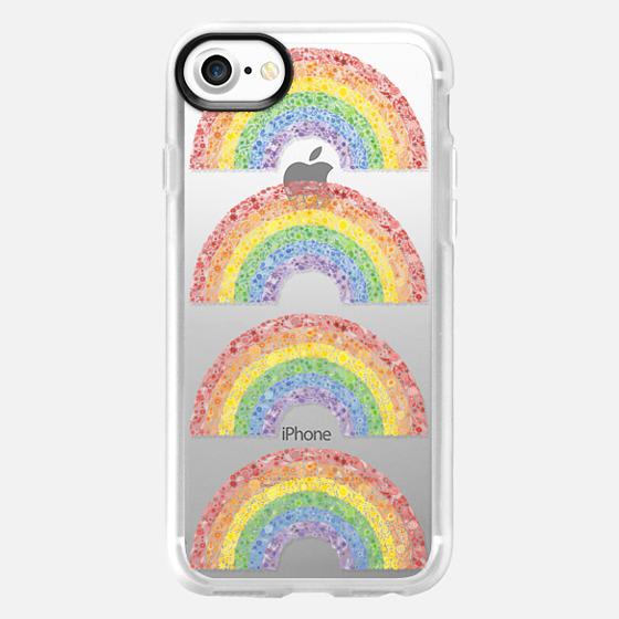 Rainbows (transparent) - Classic Grip Case